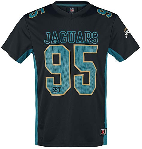 Majestic Athletic Jacksonville Jaguars NFL Moro Poly Mesh Jersey Tee T-Shirt Trikot