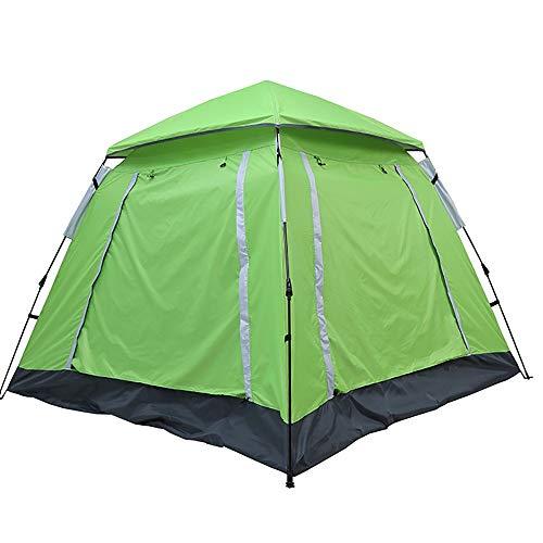 MxZas Draagbare Dome Tent Luifel Voor Camping Automatische Waterdichte Tenten 4-5 Persoon Luifel Eenvoudig Te Opzetten Comfortabel en Boven alle Handige Tent