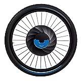 ZOOMLOFT 36V 240W Imortal Todo En Una Rueda Eléctrica del Motor De La Bicicleta 20' 24' 26' 27.5' 700C 29' Kit De Conversión De Bicicleta USB con Batería Imotor,V Wire Control,24 in