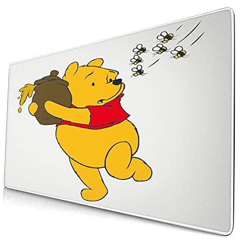 Win-nie The Pooh - Almohadillas de ratón para escritorio, diseño de consolas deportivas electrónicas, computadoras personales, 40 x 74 cm