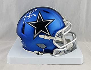 tony romo signed helmet