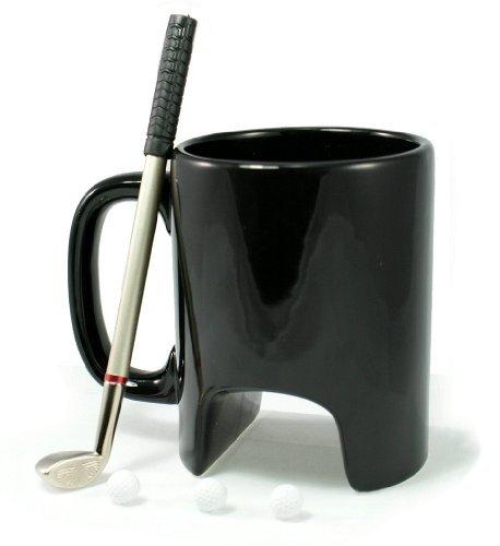 Golfer Mug with Mini Putter by Simply Mugs