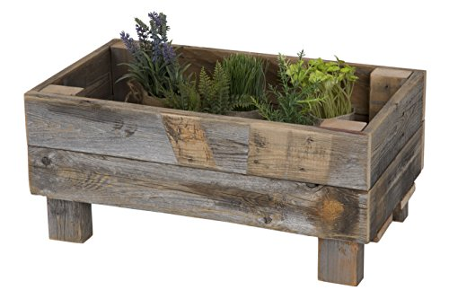 Wooden planter -Wooden 5th Anniversary Gifts for Men