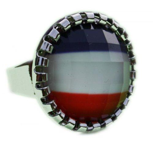 Susis Fashion Shop Ring 18-20mm Niederländische Fahne