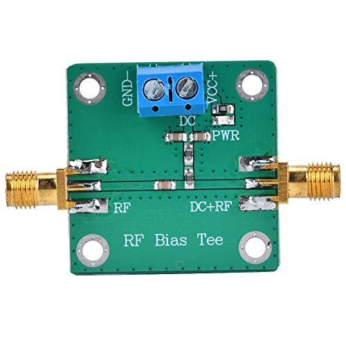 DC Bias-RF Microondas HF Bias tee DC Bias 10-6000MHz Fuente de alimentación...