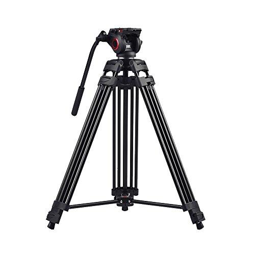 Miliboo MTT601A 152,4cm professionale in alluminio treppiedi flessibile per fotocamera digitale