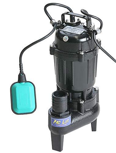 Pro-Lift-Werkzeuge Tauchpumpe mit Schwimmschalter 370W Gartenpumpe Metall-Gehäuse 17000l/h Wasserpumpe 230V Bilgepumpe Brunnenpumpe 17m³/h Aquarium elektrische Pool-Pumpe