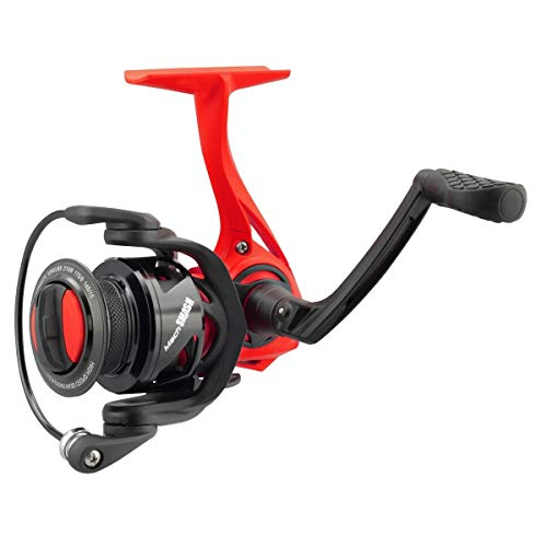 Lew's Mach Smash Spin 300 6.2:1 Spinning Reel, Red