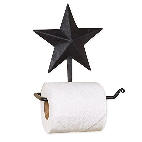 Top 10 best selling list for rustic bathroom toilet paper holder with star