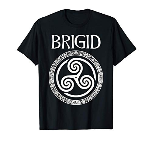 Brigid Celtic Goddess of Poetry, Fertility and Light T-Shirt