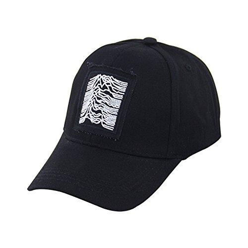 Da.Wa Casquette de Baseball Chapeau de Soleil Unisexe Hip Pop Lègére Respirant Anti-UV Golf Cyclisme Randonnée Noir
