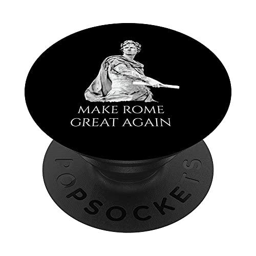 César cita inspirada Calígula relacionados con Roma gran dis PopSockets PopGrip Intercambiable