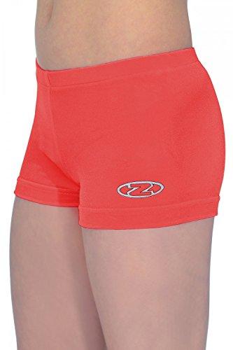 The Zone Hipster - Pantalones Cortos de Gimnasia (Talla 38), Color Rojo