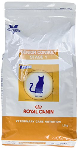 Royal Canin Senior Consult Stage 1 Nourriture pour Chat 1,5 kg