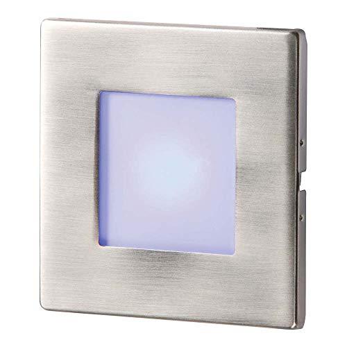 Knightsbridge NH023B Applique murale LED encastrable en acier inoxydable Bleu