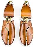 HLSH Par de Porta Zapatos telescópicos, hormas de Zapatos Ajustables en Estilo Fijo, expansores para Estirar el Largo y Ancho
