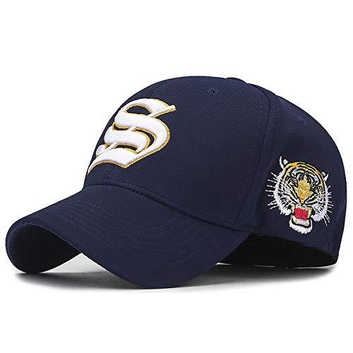 Gorra de Beisbol Bordado Gorras Animal Cap Snapback Hip Hop Moda Gorras De Béisbol Papá Sombrero Azul Marino
