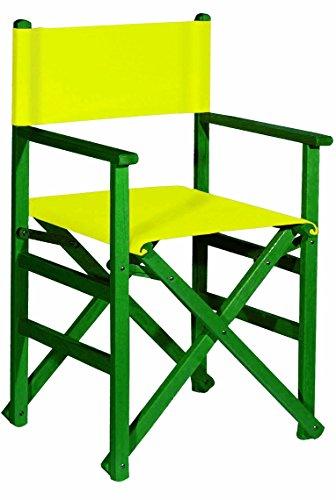 aranaz 1643 fauteuil droite pliable, Vert