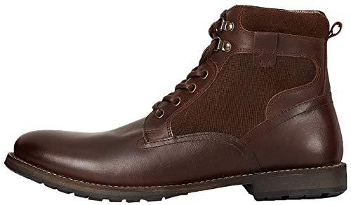 Amazon-Marke: find. Finlay Klassische Stiefel, Braun (Waxy Dark Brown), 43 EU