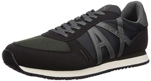 Armani Exchange Lace Up Sneaker, Sneakers Basses Homme,...