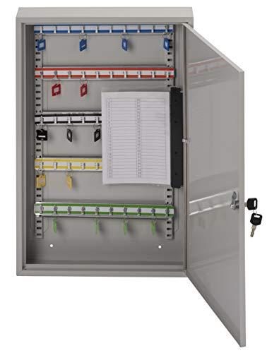 Sterling sloten KC150H sleutelkast met enkele deur met 150 haken Kast met één deur 50 Hooks Grijs