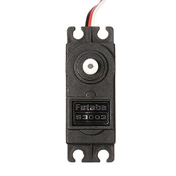 GENERIC 4 X Genuine Futaba S3003 Standard Nylon Gear Servo Compatible for Remote Control Model