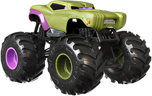Hot Wheels Monster Trucks 1:24 Scale Assortment for Kids Age 3 4 5 6 7 8 Years Old Great Gift Toy Trucks Large Scales
