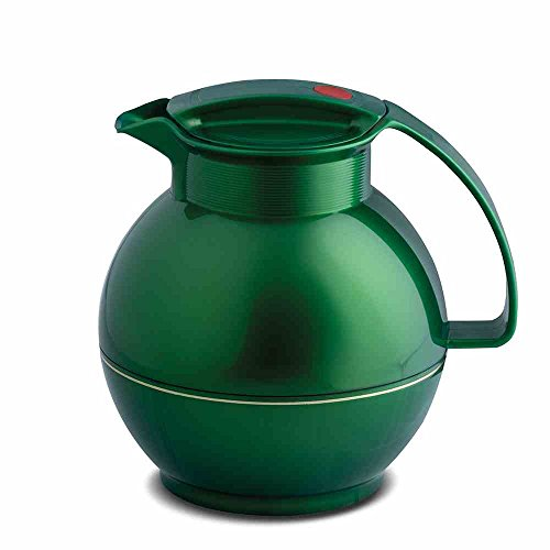 Rotpoint thermoskan 1 ltr. Shiny Jade, kunststof, groen, 17 x 17 x 19,7 cm