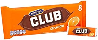 McVities Club Biscuits Orange