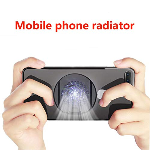 ETbotu houder voor koeling, opvouwbaar, voor mobiele telefoon, met radiator, voor iPhone Samsung Huawei Xiaomi Smartphone Tablet