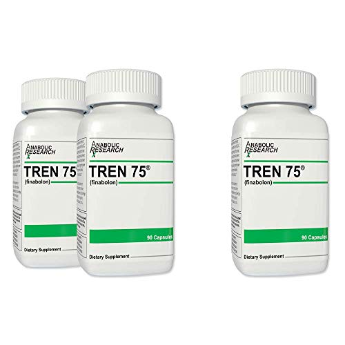 Tren 75 - Buy 2 Get 1 Free - Strength, Power, Lean Muscle, Vascularity, Appetite Stimulant - Tren75-3 Month Supply