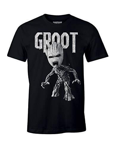 T-Shirt Les Gardiens de la Galaxie Vol. 2 Marvel - Anger Groot