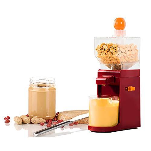 Mini-Erdnussbuttermaschine, elektrische Getreidemühle, Maismühle, Saatgutmühle mit hohem Trichter.