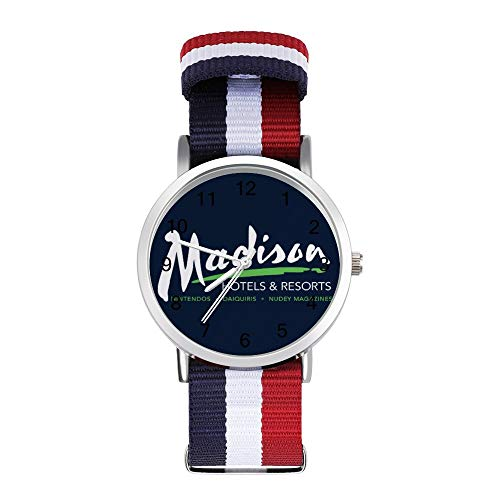 Billy Madison Radisson Hotels Mix Reloj de pulsera trenzado con escala