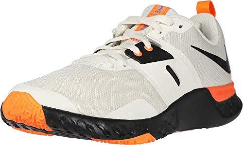Nike Renew Retaliation TR, Chaussure de Course Homme, Pale Ivory/Negro/String/Naranja Total, 42.5 EU