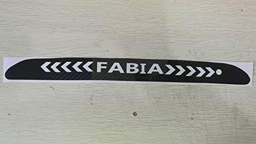 carbon achterlicht remlicht lamp afdekking voor FABIA remlichten sticker remaccessoires 2016-2018 B