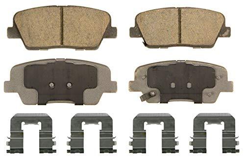 Wagner ThermoQuiet QC1284 Ceramic Disc Brake Pad Set