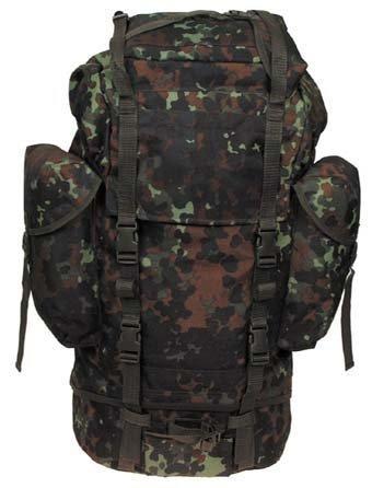 Mil-tec sac de la bundeswehr (armée allemande-grand modèle-nylon avec renfort en aluminium