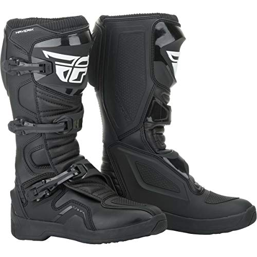 FLY Racing Maverik Boots for Motocross, Off-road, and ATV riding (SZ 12,BLACK)