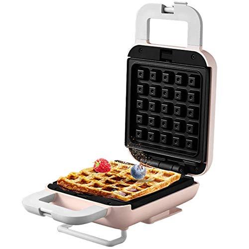 FSJD Máquina de Hacer gofres Multifuncional, máquina de sándwiches, máquina de Alimentos Ligera para el hogar, máquina de panqueques, tostadora a presión para Tostadas y calefacción