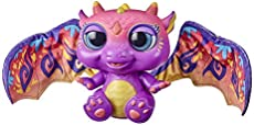 furReal Moodwings Baby Dragon Interactive Pet Toy, 50+ Sounds & Reactions, Ages 4 and Up
