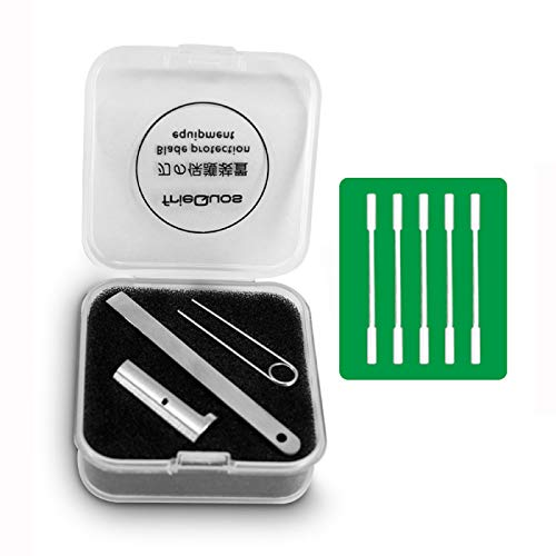 IQO-S Heater - Pellicola protettiva per la pulizia della lama e 5 bastoncini di pulizia per IQO-S 3.0 o IQO-S 2.4