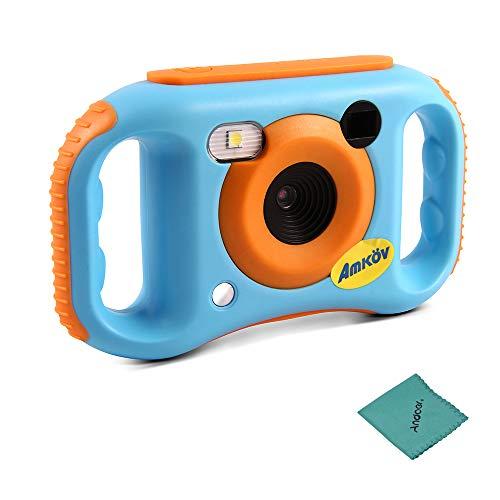 Amkov E7 Kids Digitale Videokamera WiFi max. 5 Megapixel Eingebaute Lithium Batterie Neujahr Geschenk für Kinder Jungen Mädchen