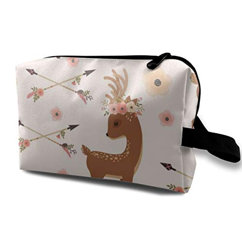 BLongTai Knee High Compression Socks Christmas Cartoon Deer for Women and Men Sport Crew Tube Socks