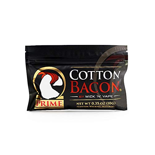 Organic Wick N Vape Cotton Bacon Prime For RDA RDTA RTA Rebuild Wire Vape Cotton Nicotine Free