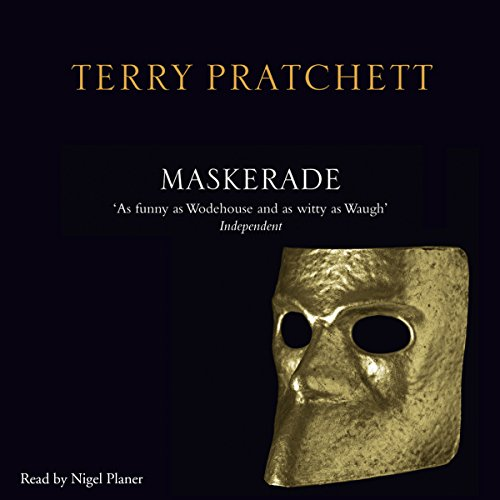 Maskerade audiobook cover art