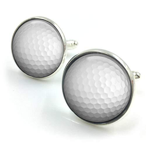 Butterfly N Beez Versilbert Golf Manschettenknöpfe   Golf Geschenk   Golfspieler Geschenk   Golf Geschenk für Männer   Trauzeugen Geschenk  Geschenk für Männer  Geschenk für ihn