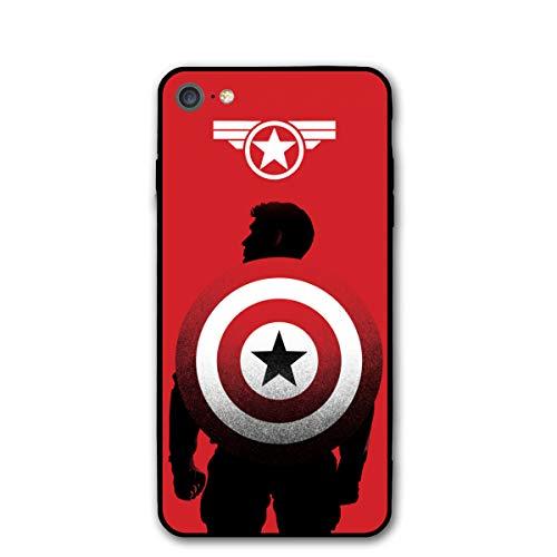 iPhone 7 Case 8 Case 4.7',Comics Case Cover for iPhone 7/8 (Captain-America-3)