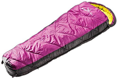 Black Crevice Kinder-Schlafsack Peak I Outdoor-Schlafsack I Schlafsäcke I Camping-Schlafsack inkl. Packsack I atmungsaktiver & wasserdichter Schlafsack I Länge 165cm
