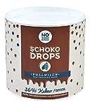 NO SUGAR SUGAR Schokodrops Vollmilch Schokolade mit 36% Kakao Anteil